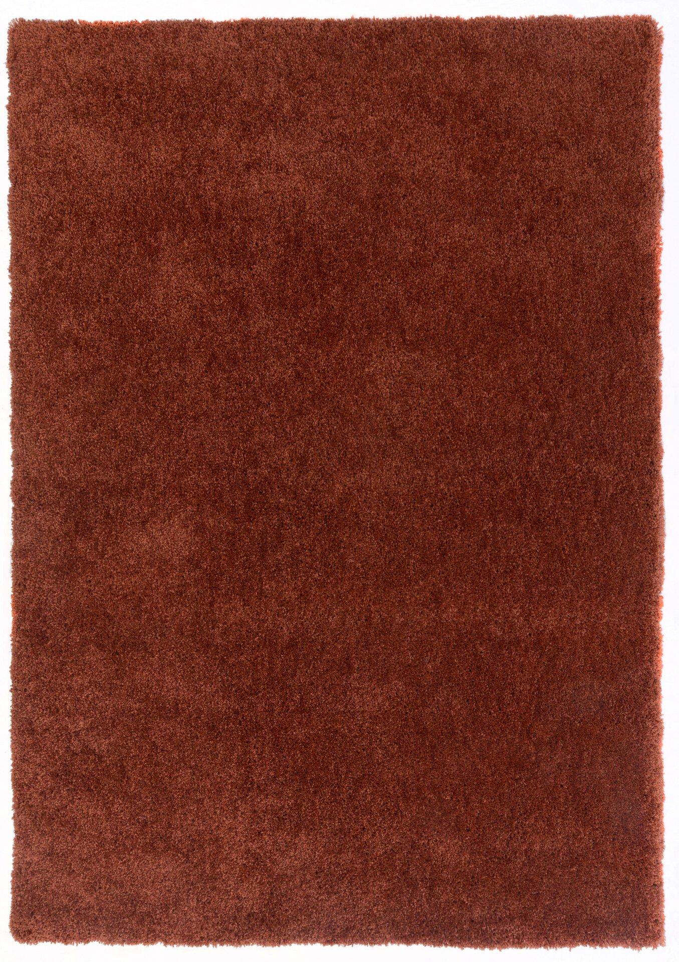 Handtuftteppich Giulia Gino Falcone Textil braun 160 x 230 cm