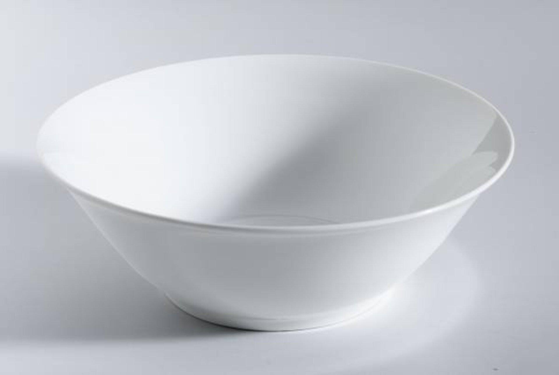Geschirr Casa Nova Keramik weiß 23 x 6 x 13 cm