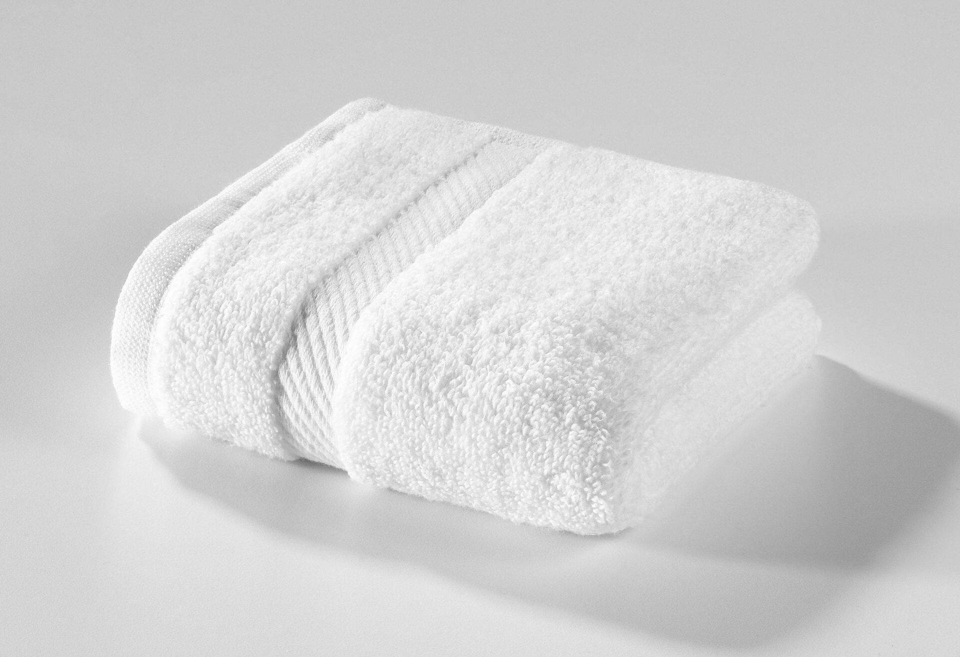 Seiftuch Micro Baumwolle Casa Nova Textil weiß 30 x 30 cm