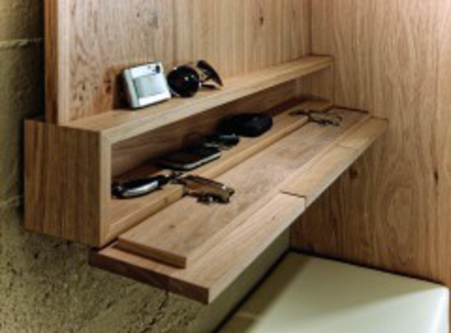 Garderobenpaneel V-MONTANA Voglauer Holzwerkstoff