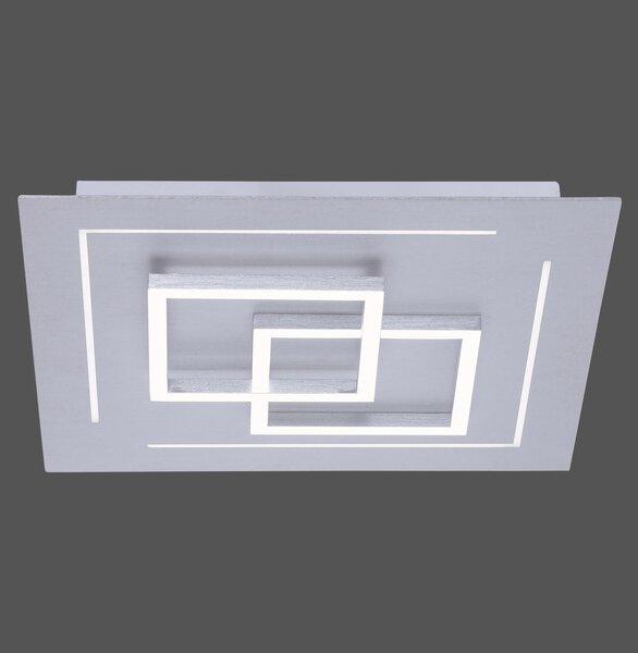 Smart-Home-Leuchten Paul Neuhaus Metall alu ca. 40 cm x 7 cm x 40 cm