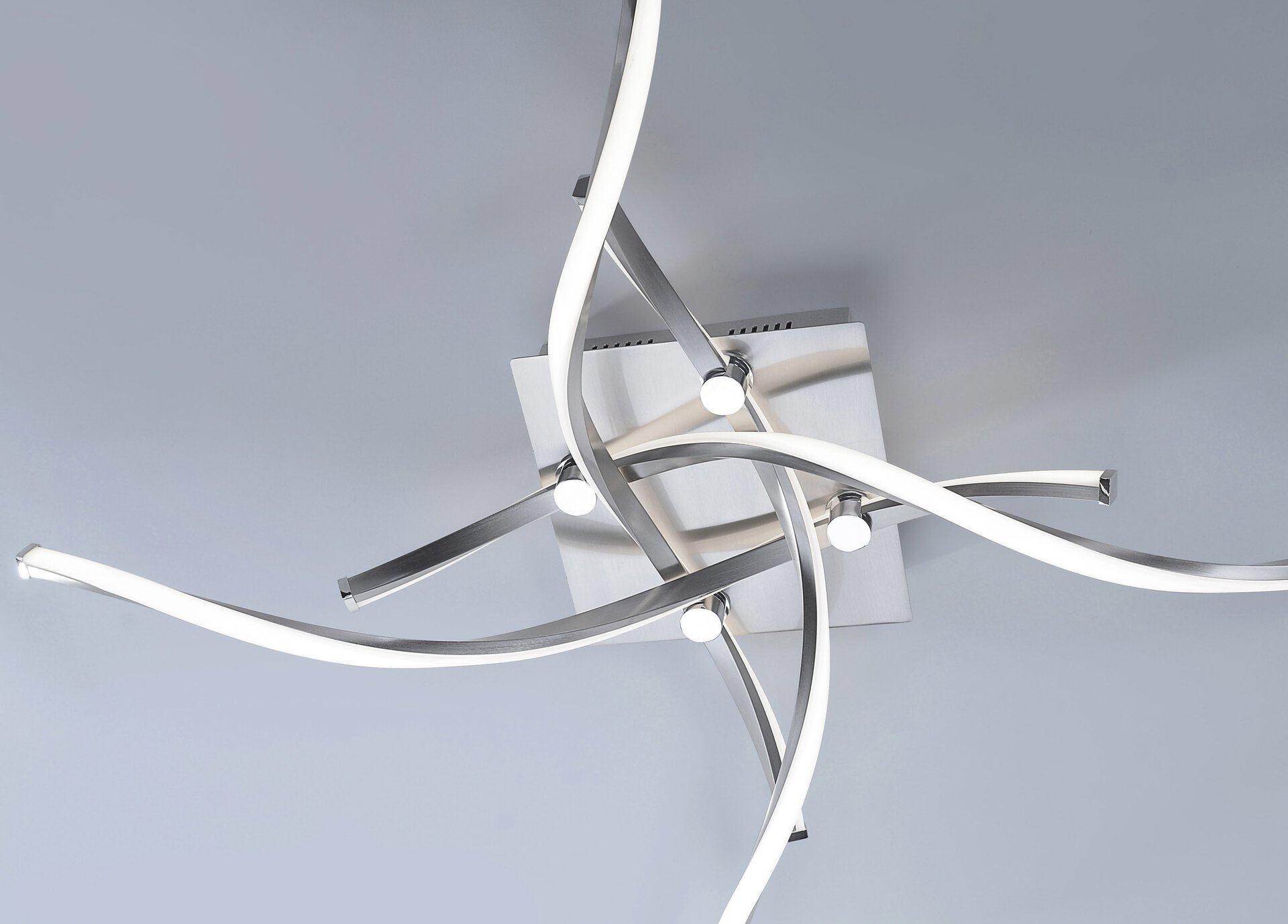 Deckenleuchte POLINA Paul Neuhaus Metall 78 x 17 x 78 cm