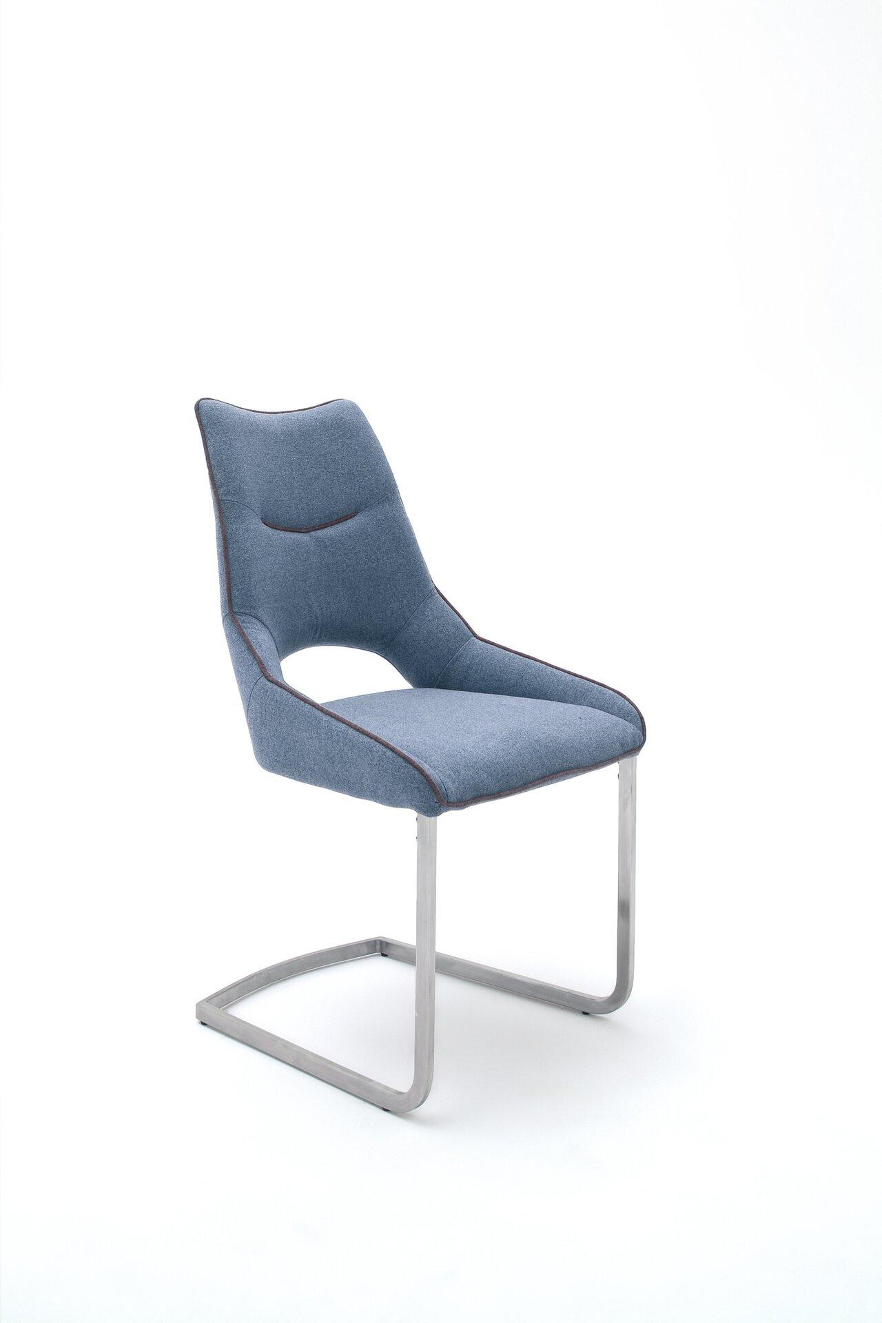 Stuhl ALDRINA MCA furniture Textil mehrfarbig 62 x 96 x 53 cm