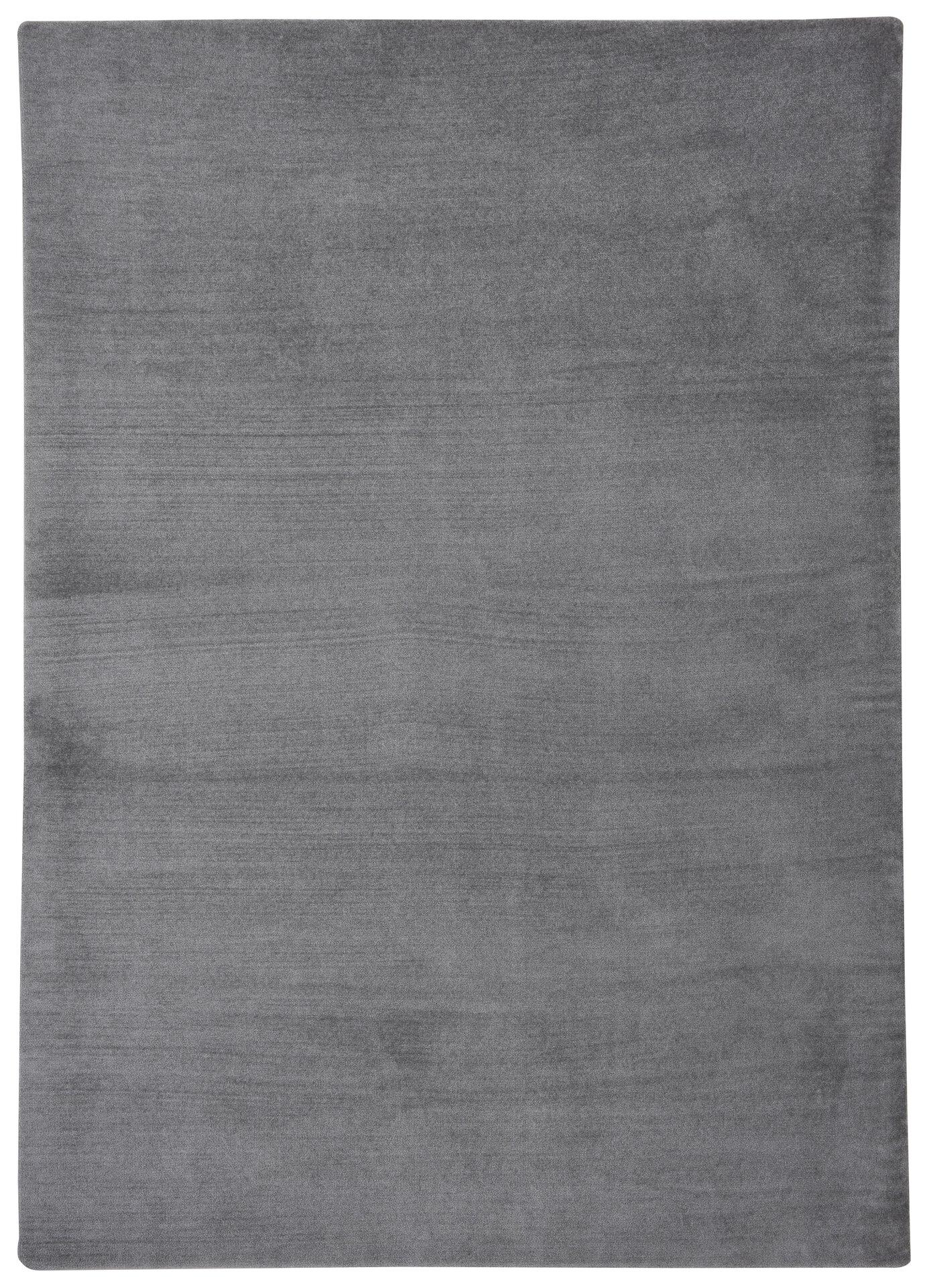 Maschinenwebteppich Sevolia MONDO Textil grau 140 x 200 cm
