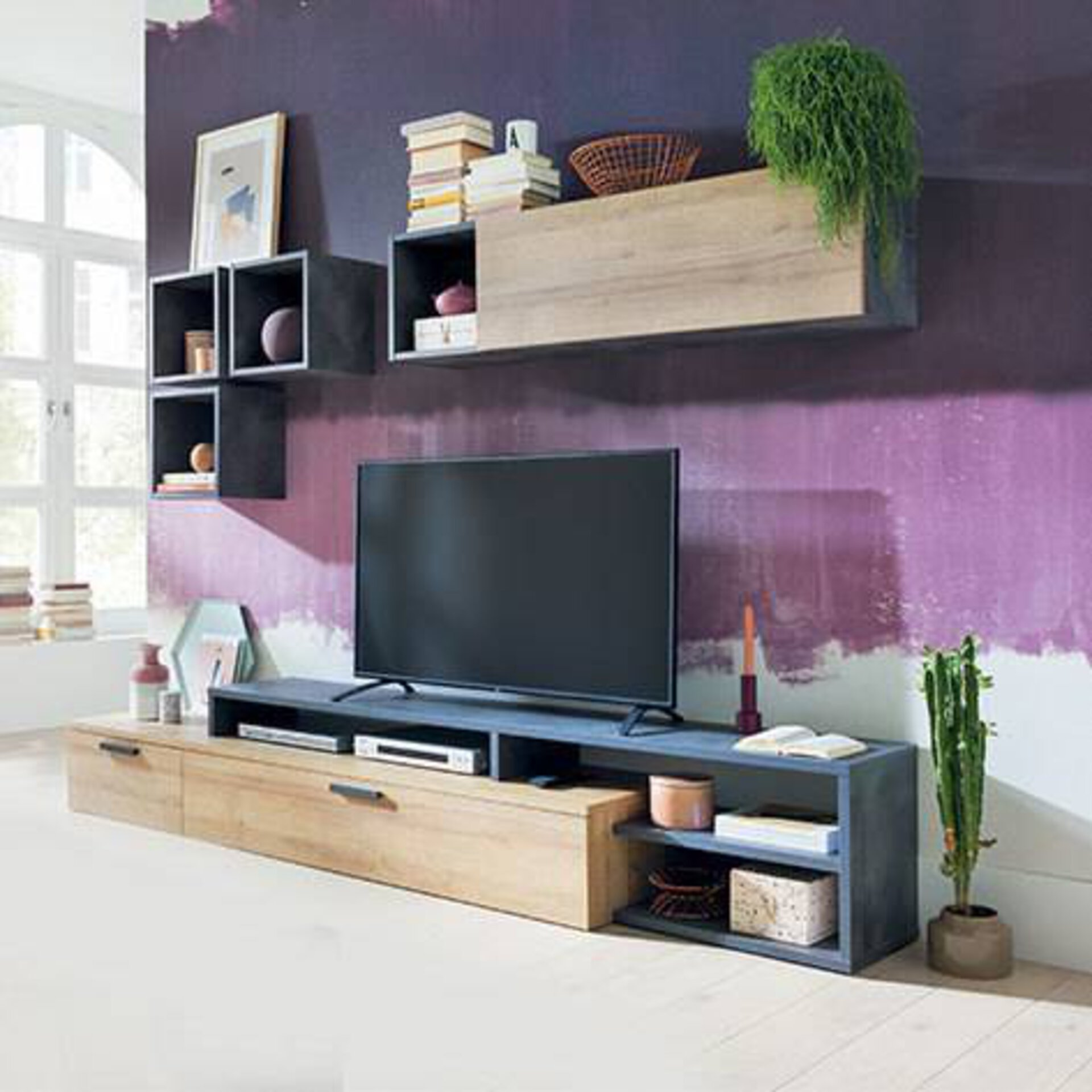 Die perfekte Wohnwand für lange Gaming Abende mit Freunden oder Familie