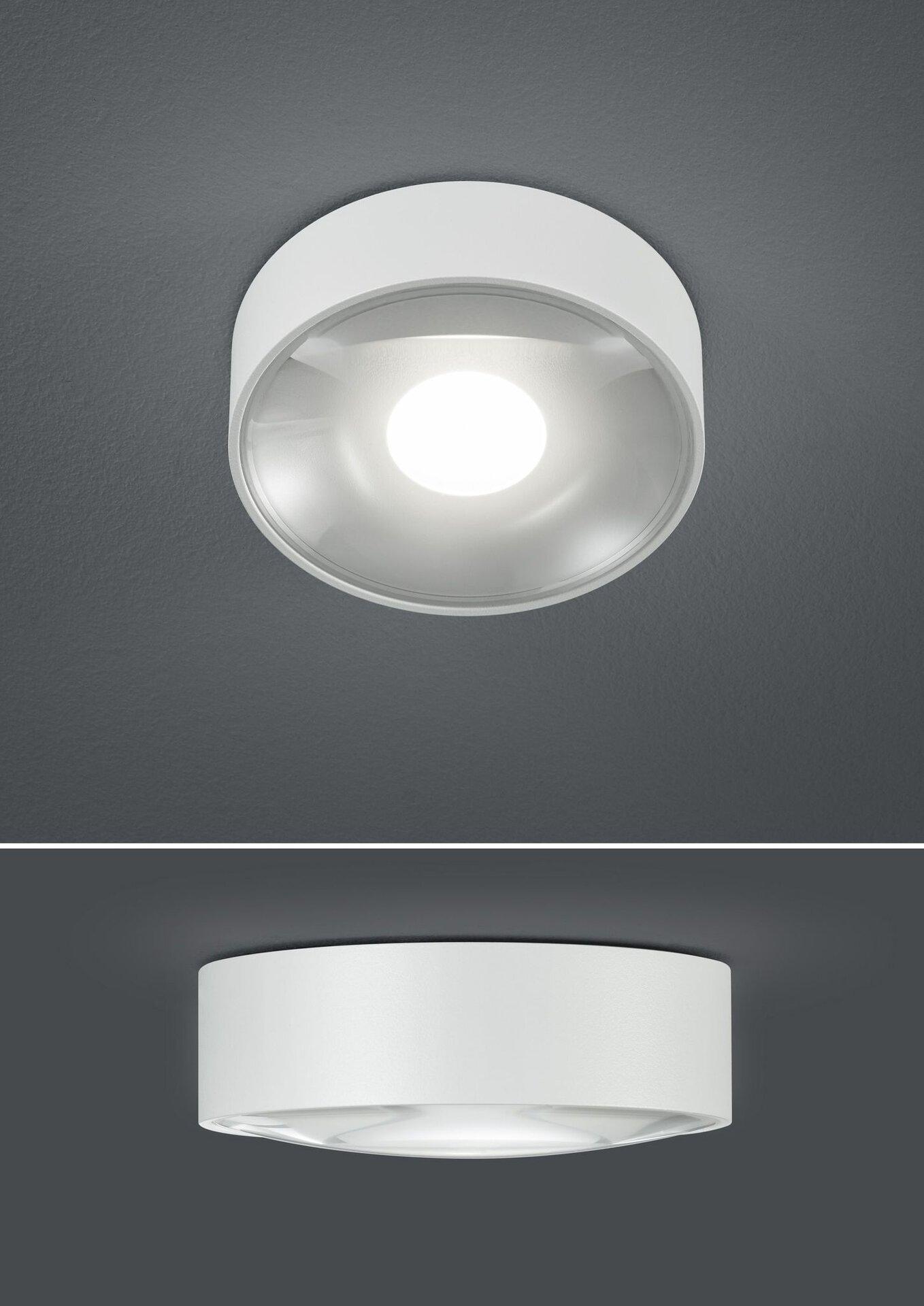 Bad-Deckenleuchte CONA B-Leuchten Metall weiß 11 x 4 x 11 cm