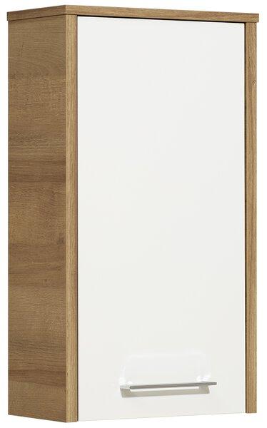 Hängeschrank Vito Holzwerkstoff weiß glanz
