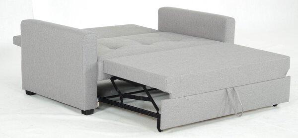 Schlafsofa CELECT Textil Twist 19 grau ca. 93 cm x 84 cm x 164 cm