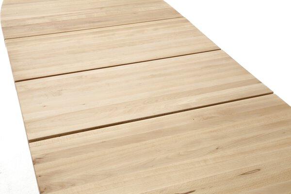 Esstisch MCA furniture Holz Wildeiche massiv ca. 90 cm x 78 cm x 140 cm