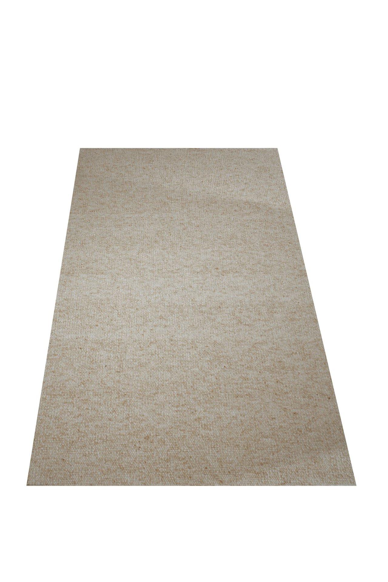 Handwebteppich Alpina Allgäuer Teppichmanufaktur Textil beige
