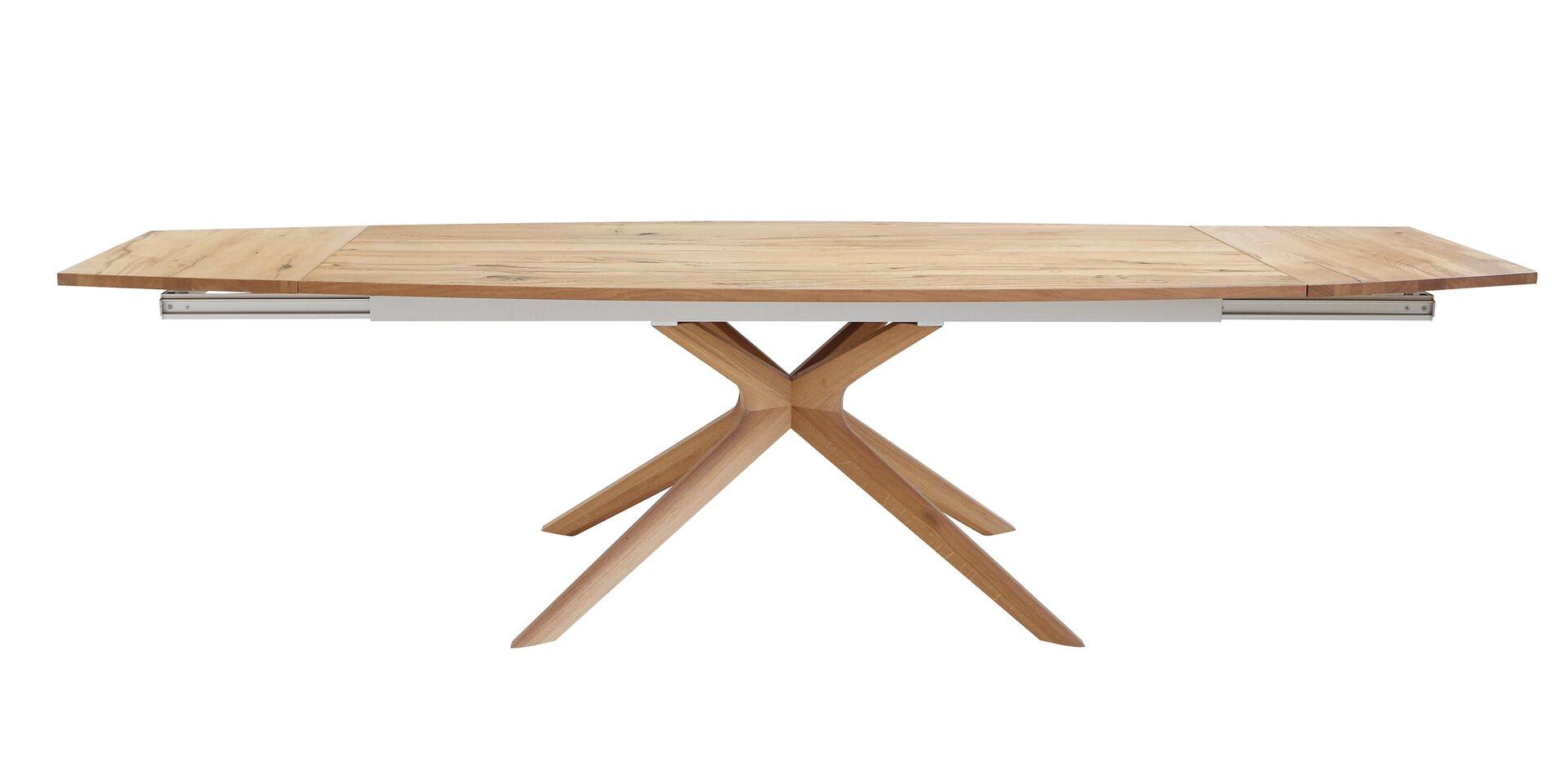 Esstisch V-ALPIN Voglauer Holzwerkstoff mehrfarbig 100 x 76 x 200 cm