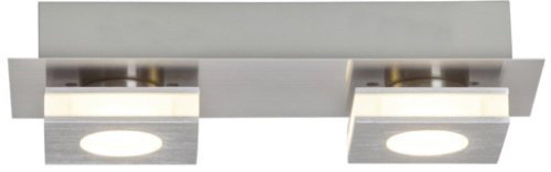 Deckenleuchte TRANSIT Brilliant Metall 10 x 7 x 26 cm