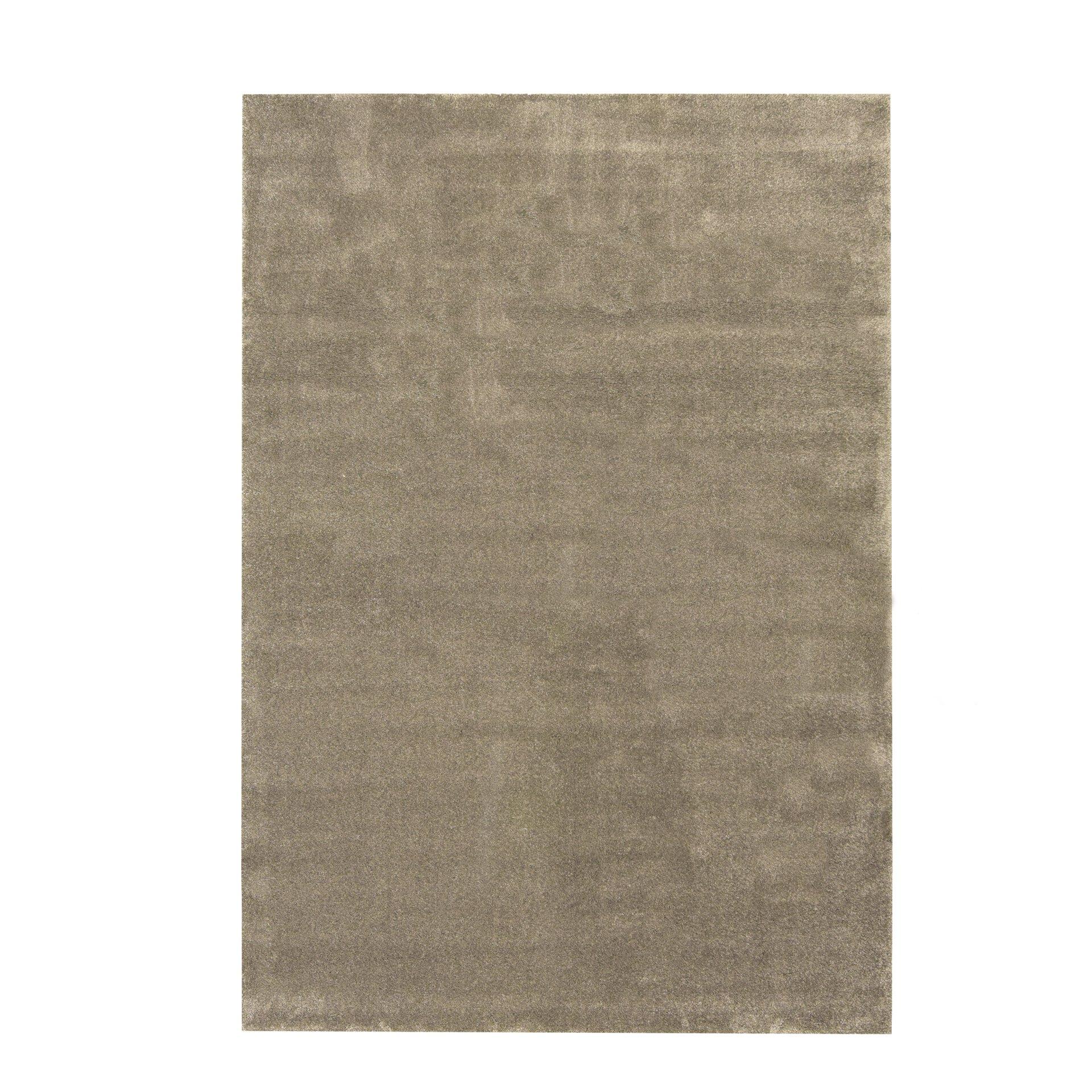 Maschinenwebteppich Montana BG Sense merinos Textil grau 1 x 1 cm