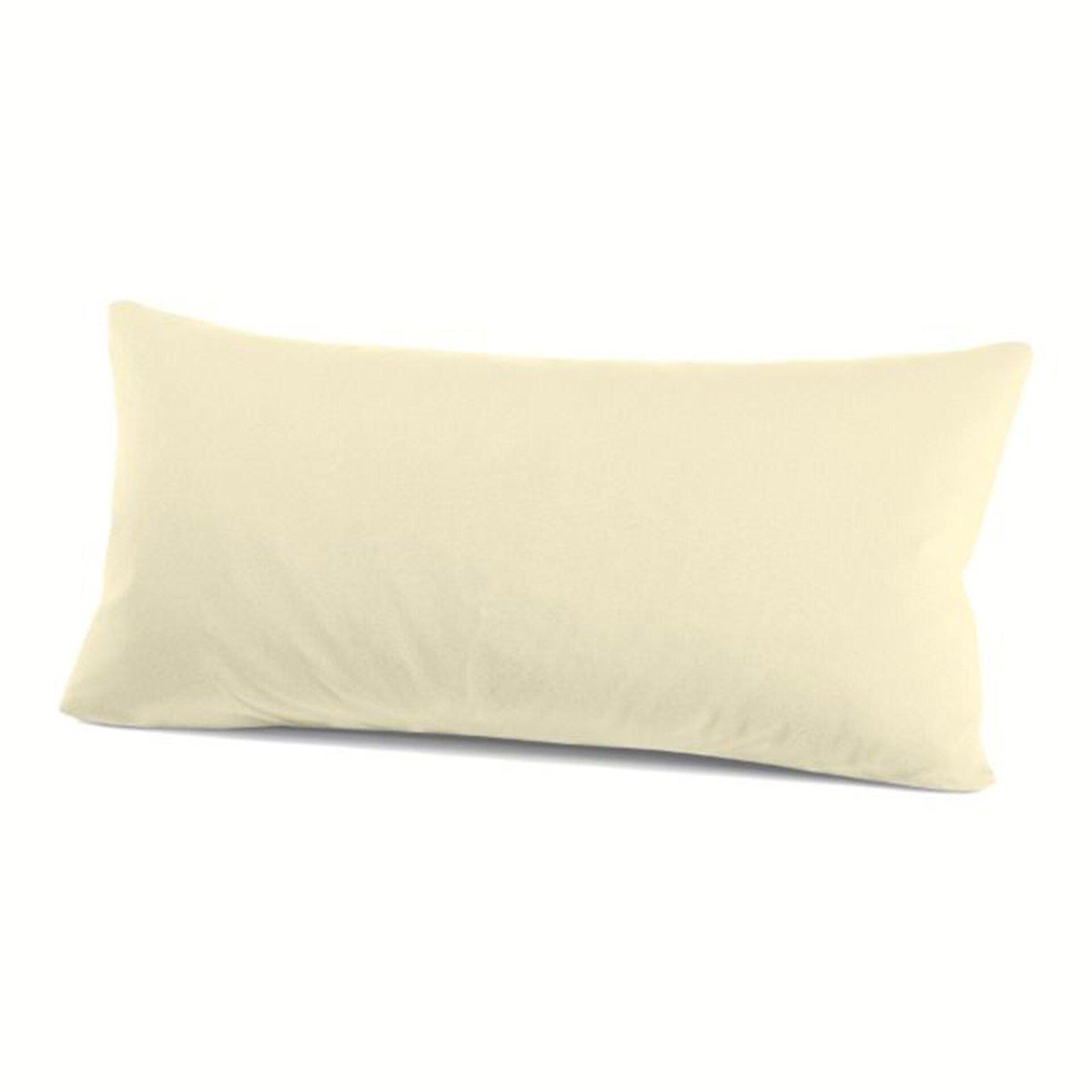 Kissenhülle Schlafgut Textil beige 40 x 80 cm