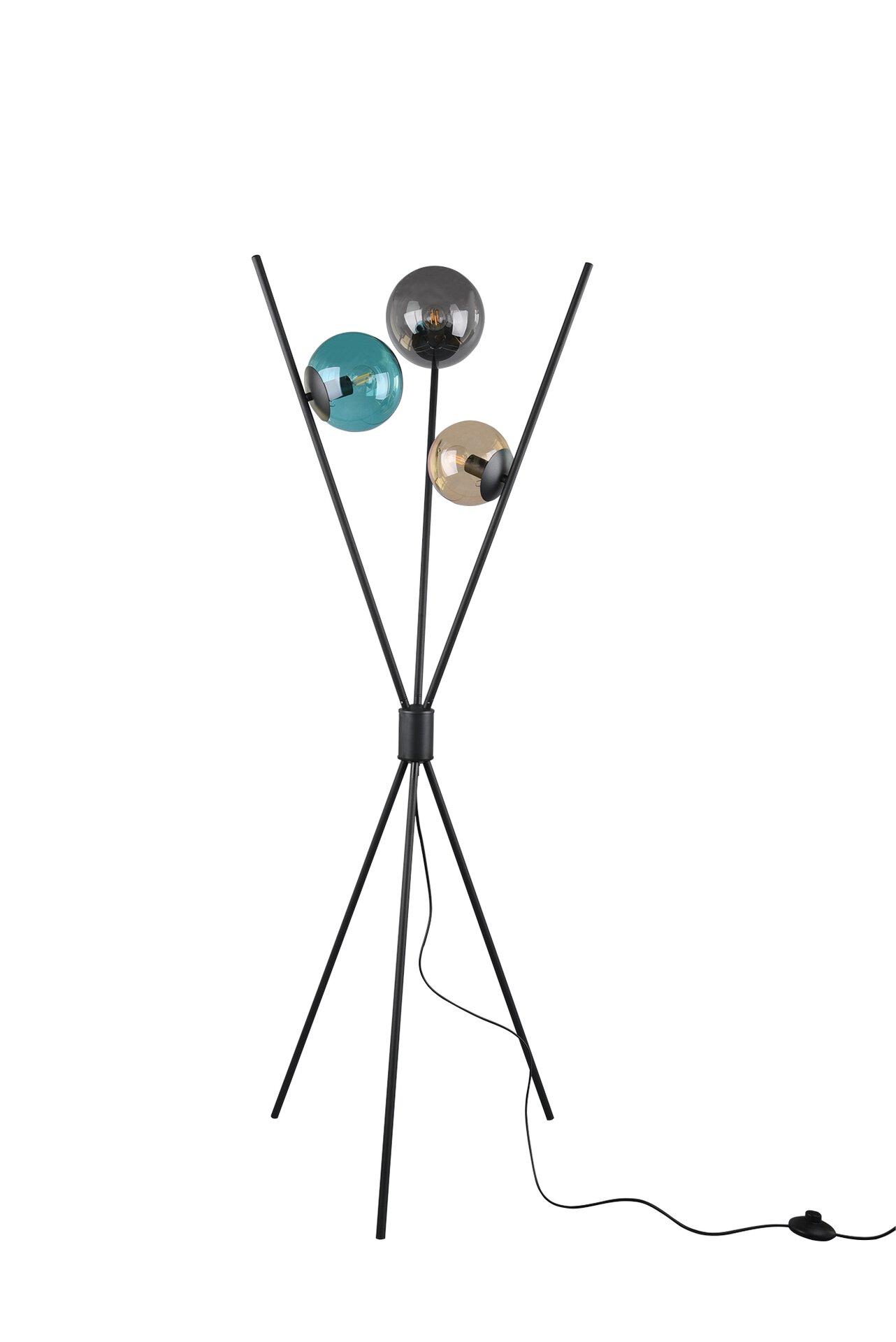 Stehleuchte Lance Trio Leuchten Metall 60 x 156 x 60 cm