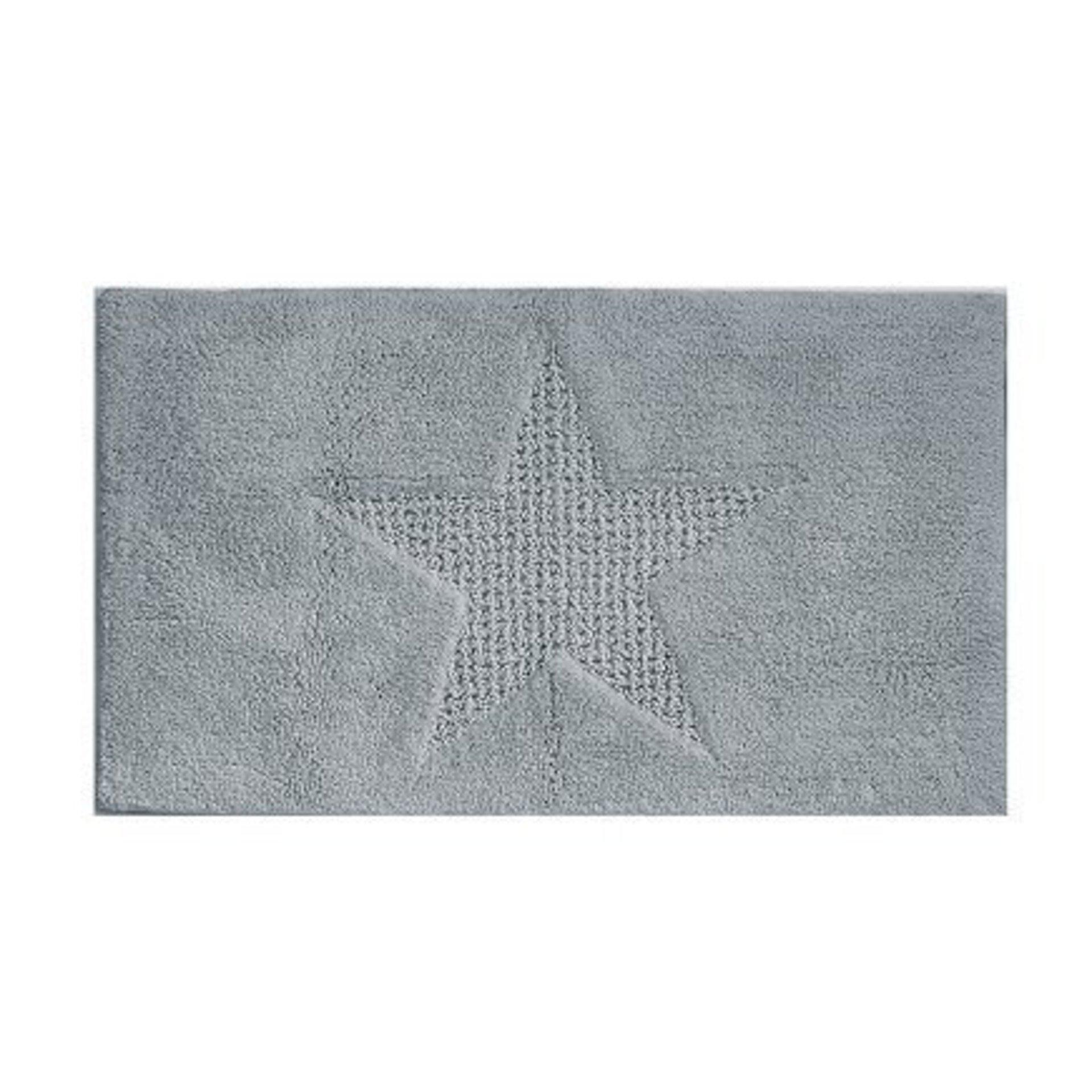 Badteppich Lindano Kela Textil grau