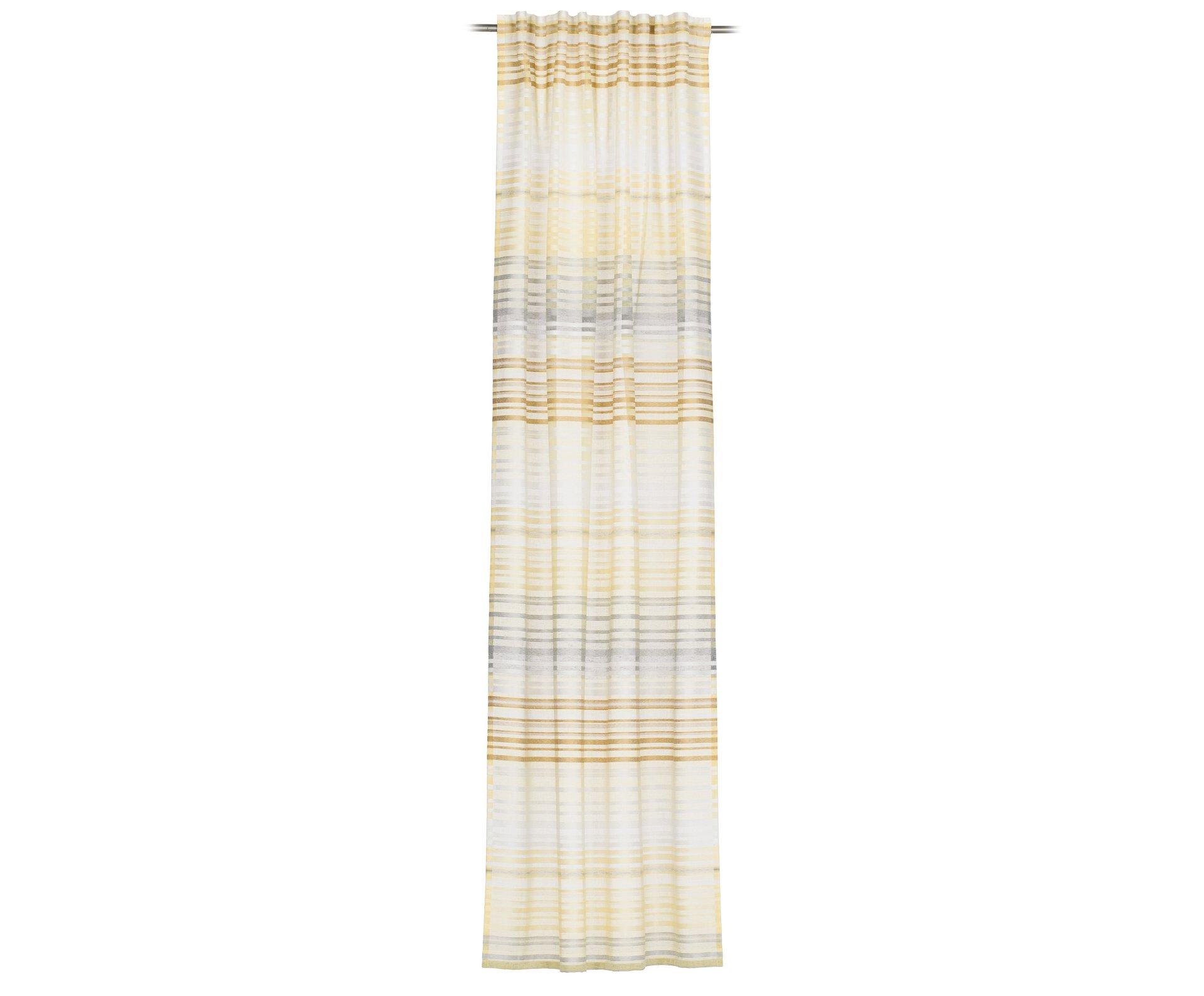 Schlaufenschal Francesco Ambiente Trendlife Textil gelb 140 x 245 cm