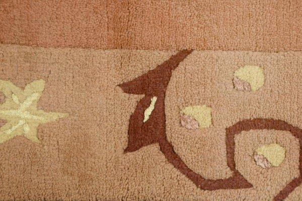 Handknüpfteppich Theko Textil 450 terra