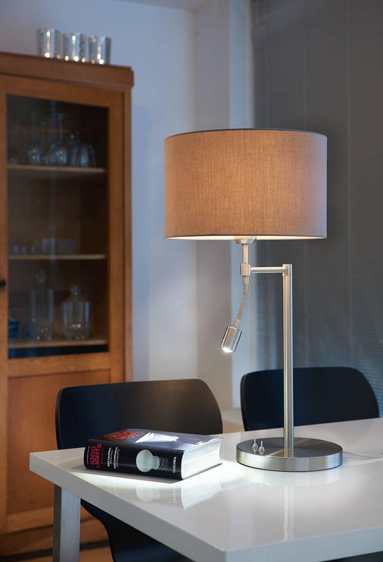 Tischleuchte CALGARY Light & Living Metall 20 x 46 x 20 cm