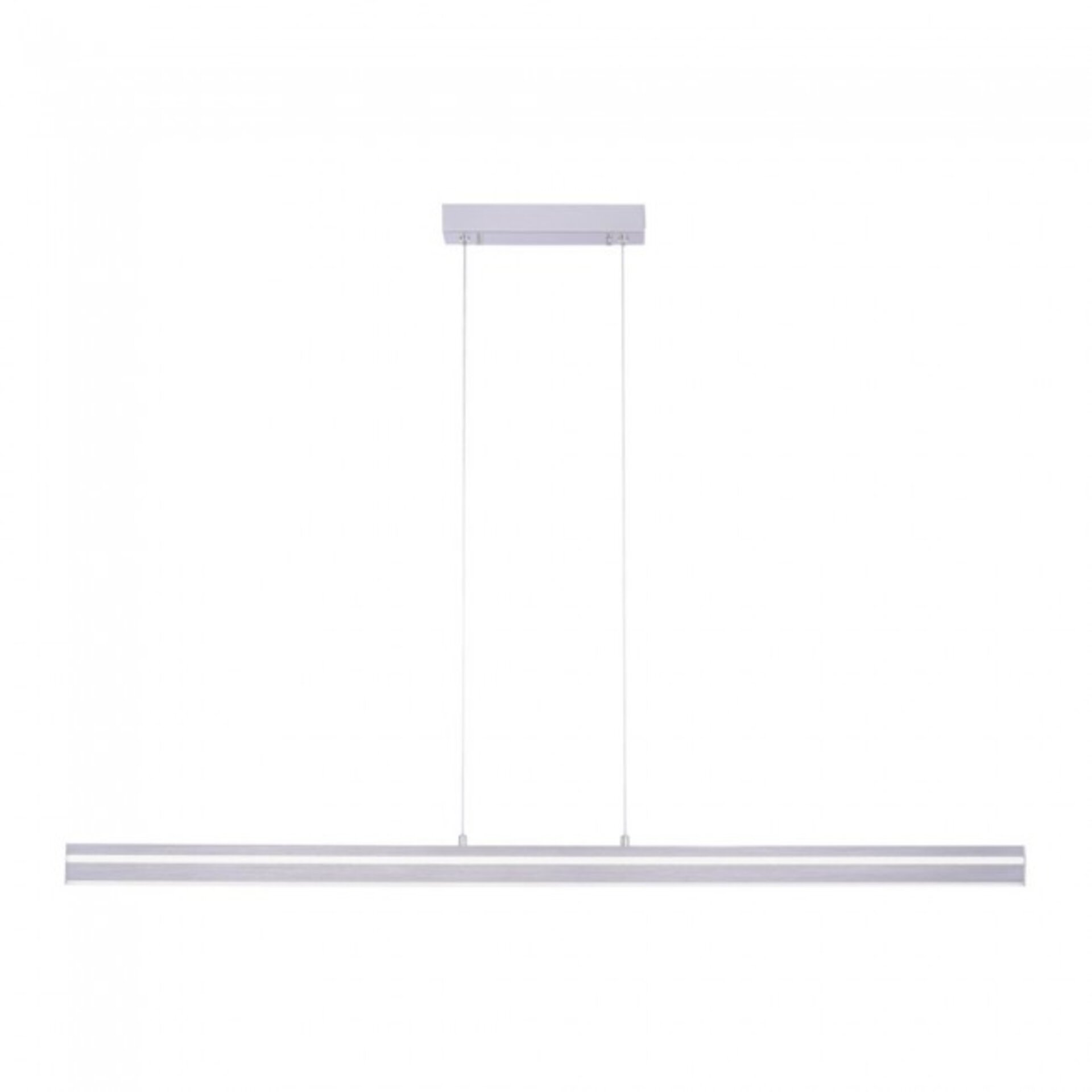 Hängeleuchte Q-VITO Paul Neuhaus Metall silber 7 x 120 x 130 cm