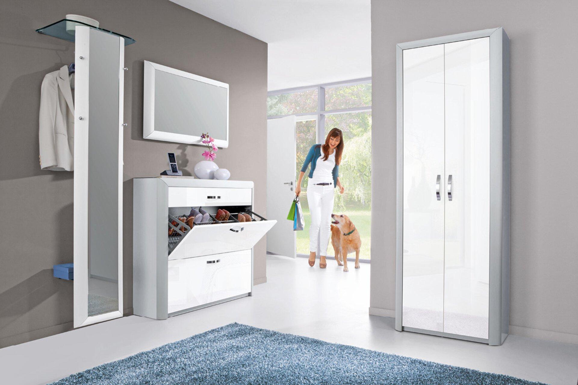 Garderobenschrank TITAN MONDO Holzwerkstoff mehrfarbig 33 x 194 x 68 cm