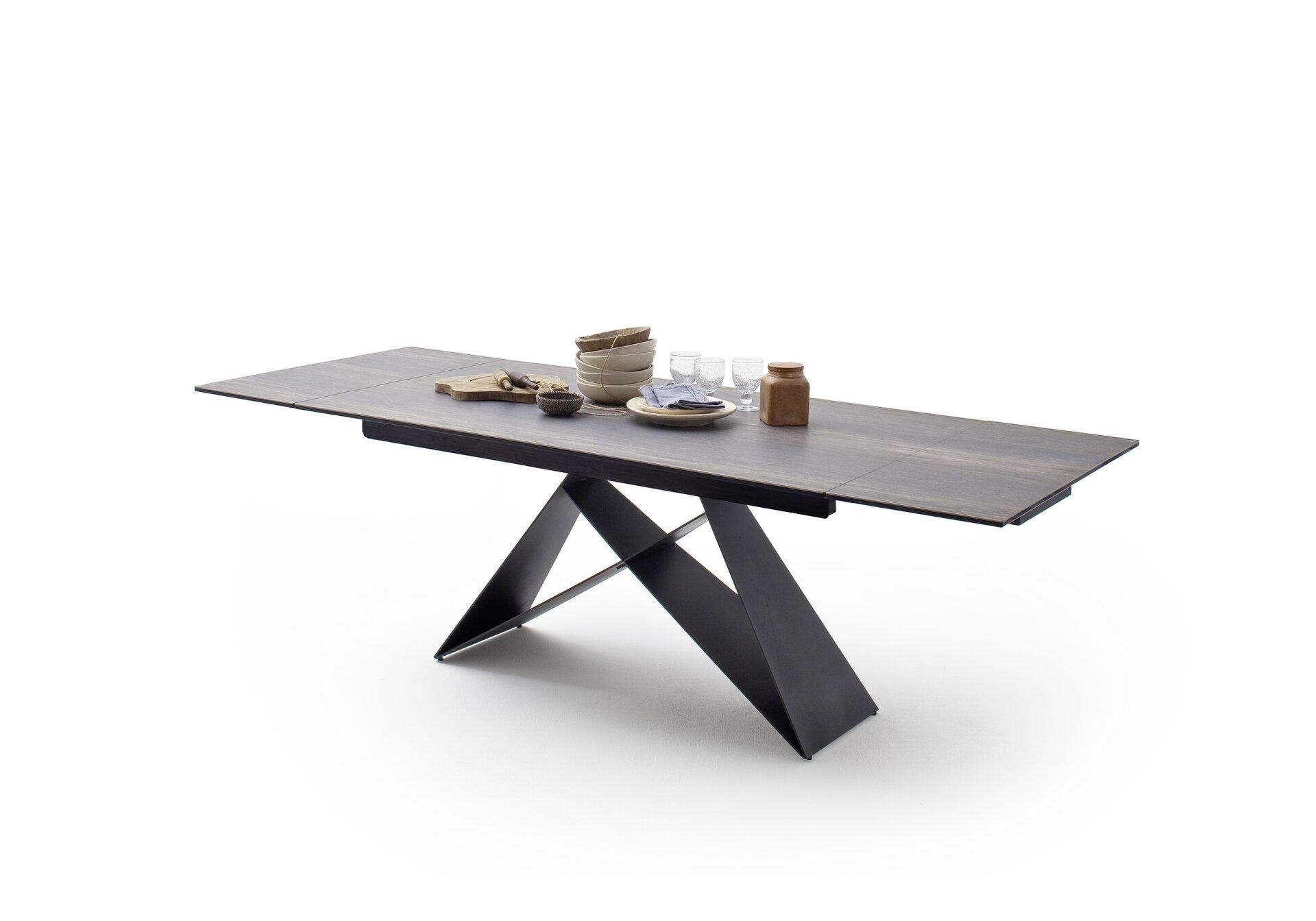 Esstisch KOBE MCA furniture Holz braun