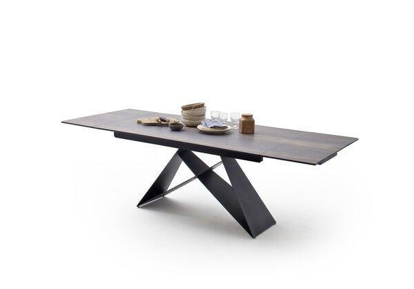 Esstisch MCA furniture Holz Keramik Holz barrique