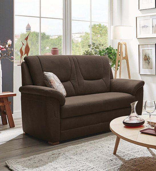 Sofa 3-Sitzer Systempolster Textil Holiday sand PG: 12 ca. 92 cm x 103 cm x 198 cm