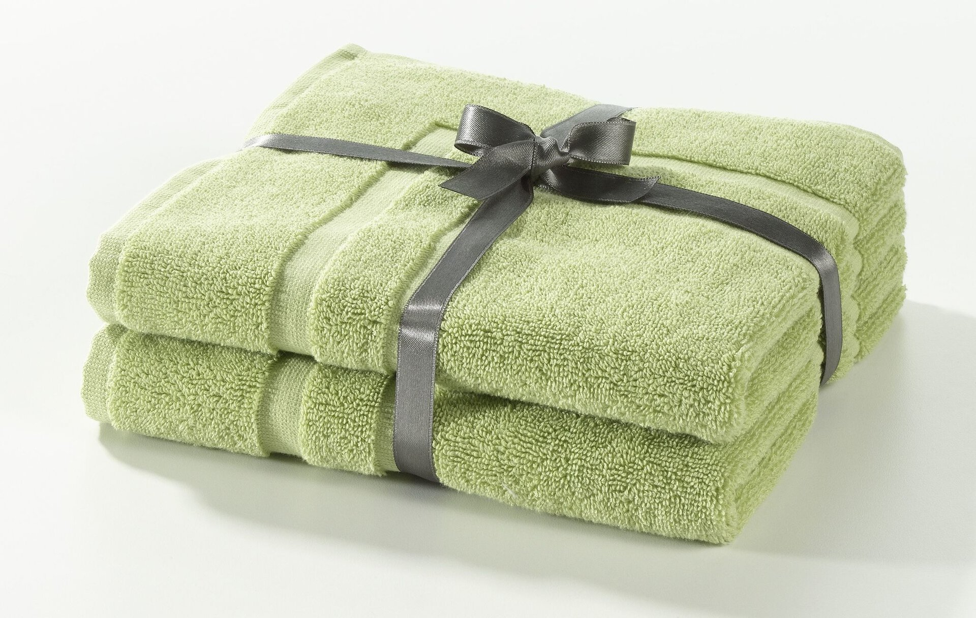 Badteppich Frottierset Casa Nova Textil grün 50 x 70 cm