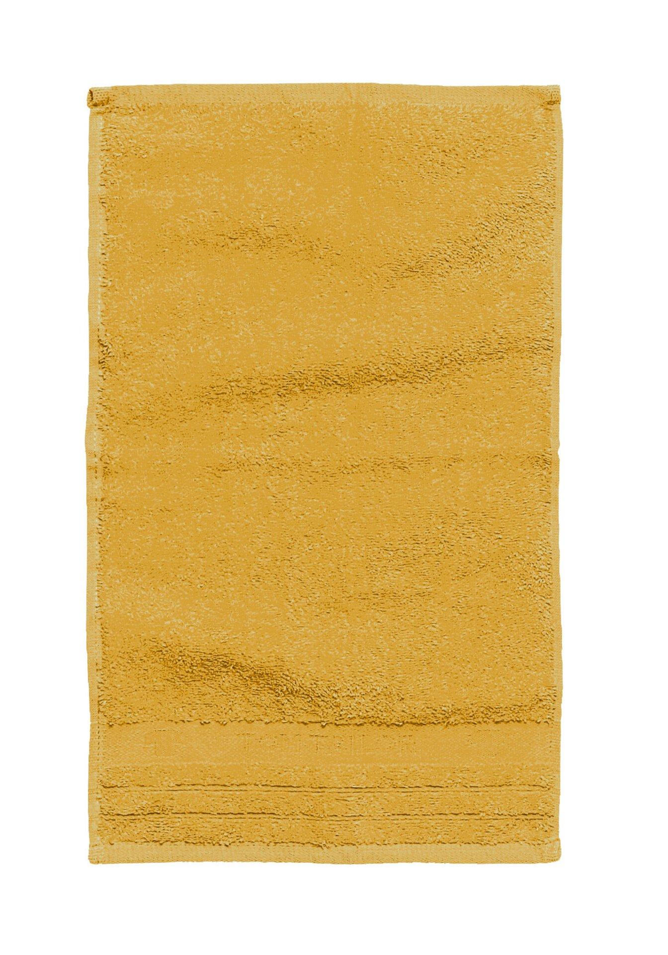 Gästetuch Uni Towel Tom Tailor Textil gelb 30 x 50 cm