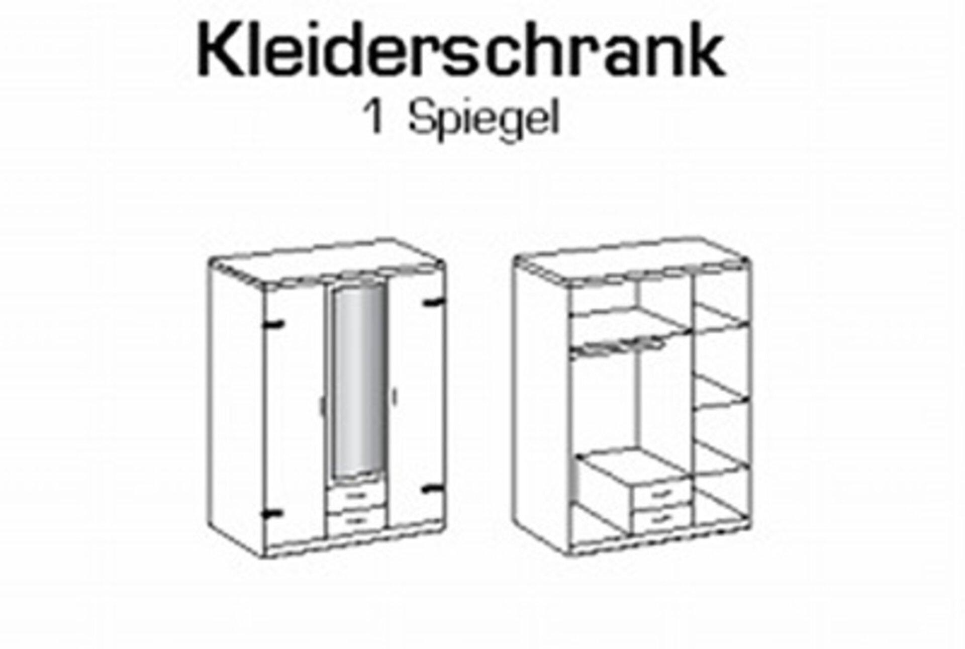 Drehtürenschrank CORK Wimex Wohnbedarf Holzwerkstoff 58 x 199 x 135 cm