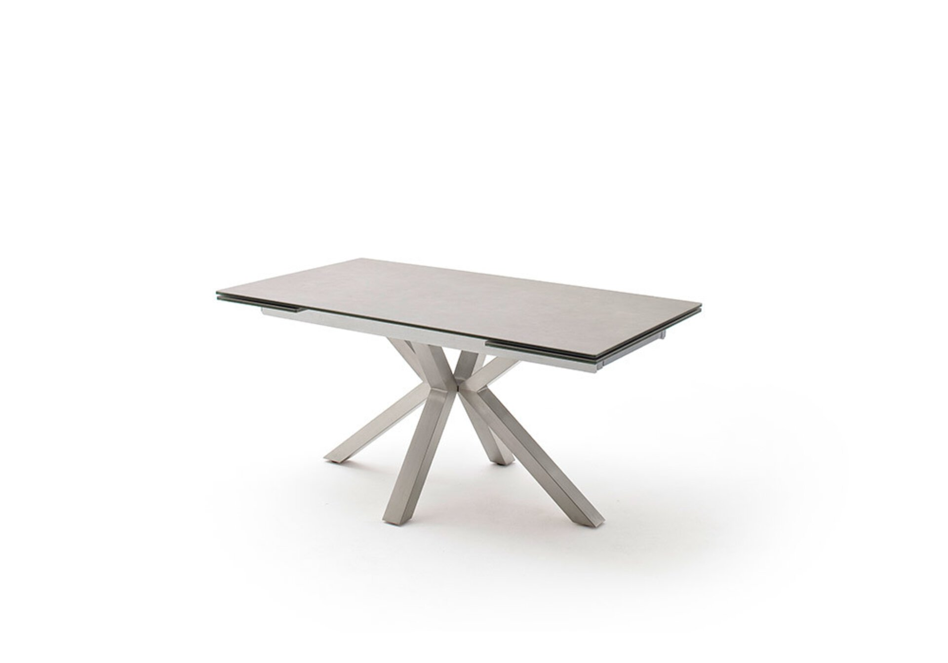 Esstisch NAGANO MCA furniture Metall mehrfarbig 90 x 76 x 160 cm
