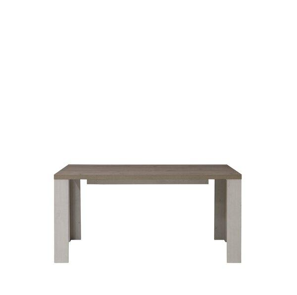 Esstisch SELF Holzwerkstoff Schneeeiche Nachbildung ca. 89 cm x 76 cm x 160 cm