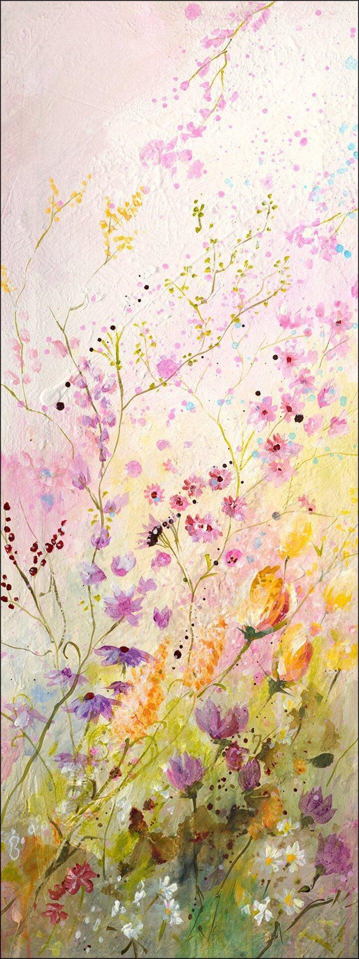 Bild Flower Landscape I Pro-Art Holzwerkstoff mehrfarbig 77 x 27 x 2 cm