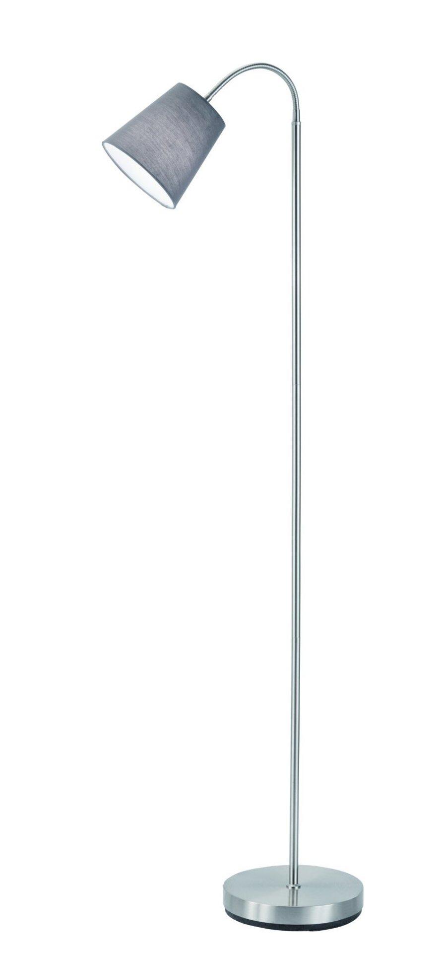 Stehleuchte Windu Reality Leuchten Metall grau 23 x 140 x 23 cm