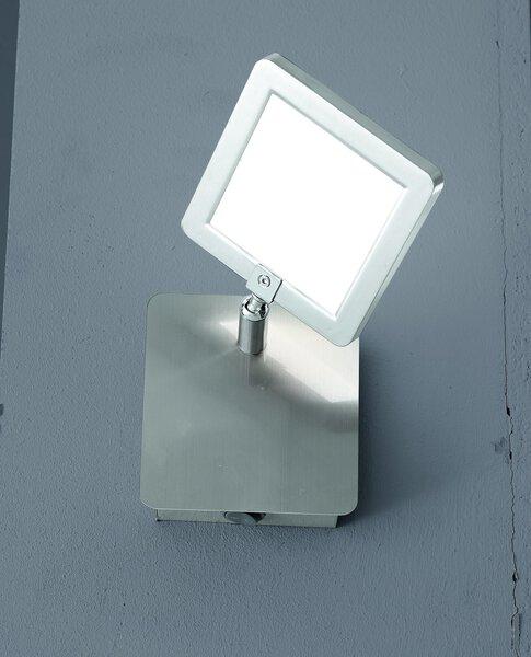 Strahler Casa Nova Metall silber ca. 11 cm x 16 cm x 11 cm