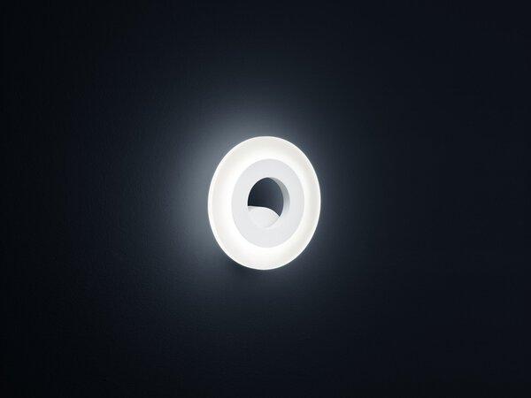 Wandleuchte Helestra Leuchten Metall weiß ca. 18 cm x 5 cm x 18 cm
