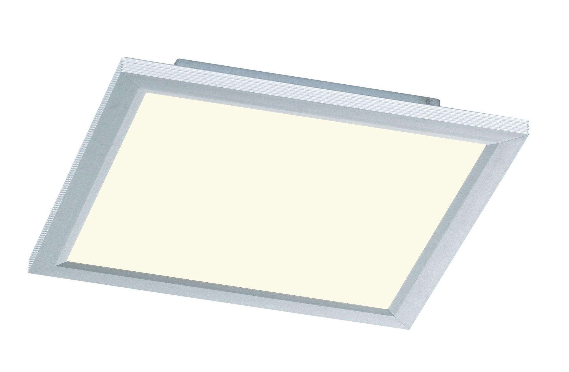Deckenleuchte Liv Wofi Leuchten Kunststoff silber 30 x 6 x 30 cm