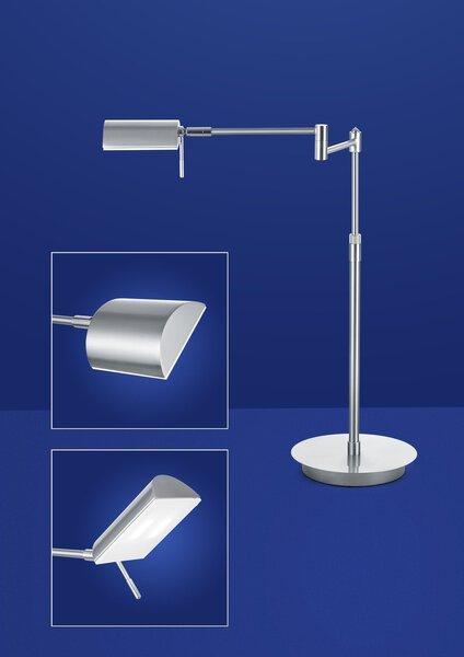 Tischleuchte B-Leuchten Metall nickel, chrom