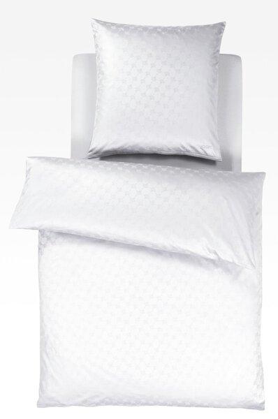 Satin-Bettwäsche Joop!  Textil weiß