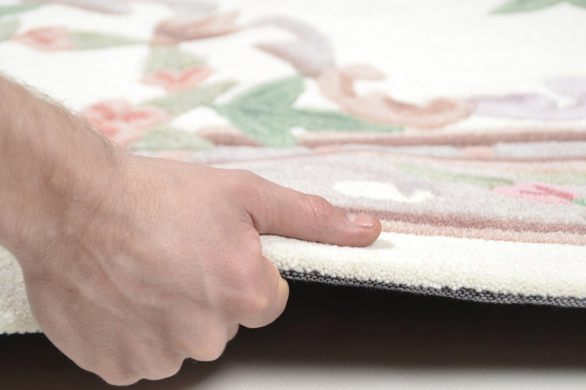 Handtuftteppich Ming Theko Textil braun 1 cm