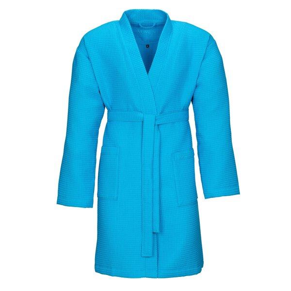 Bademantel Vossen Textil 557 turquoise