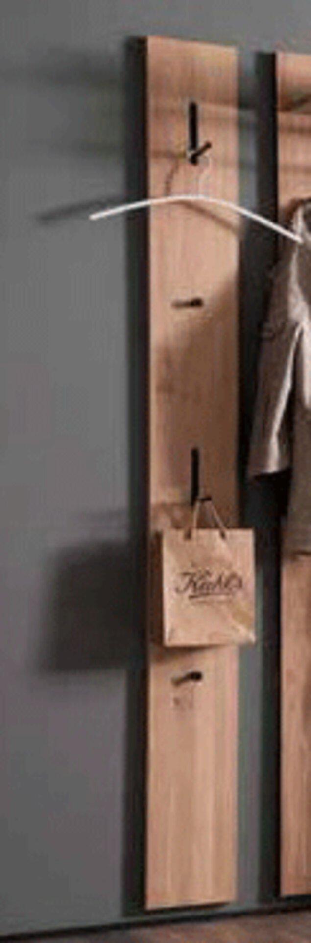 Garderobenpaneel NOVARA Wittenbreder Holz mehrfarbig 37 x 196 x 61 cm