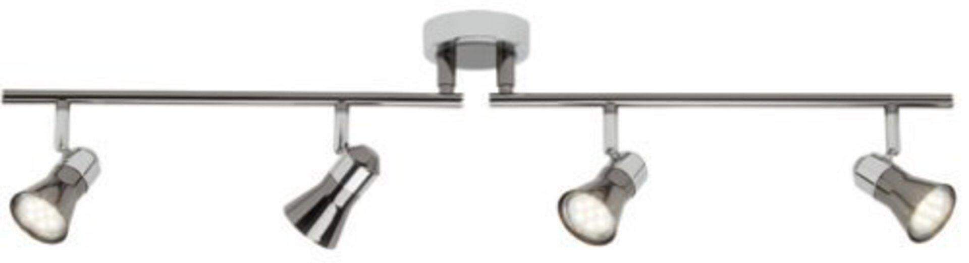 Strahler JUPP LED Brilliant Metall silber 14 x 19 x 83 cm