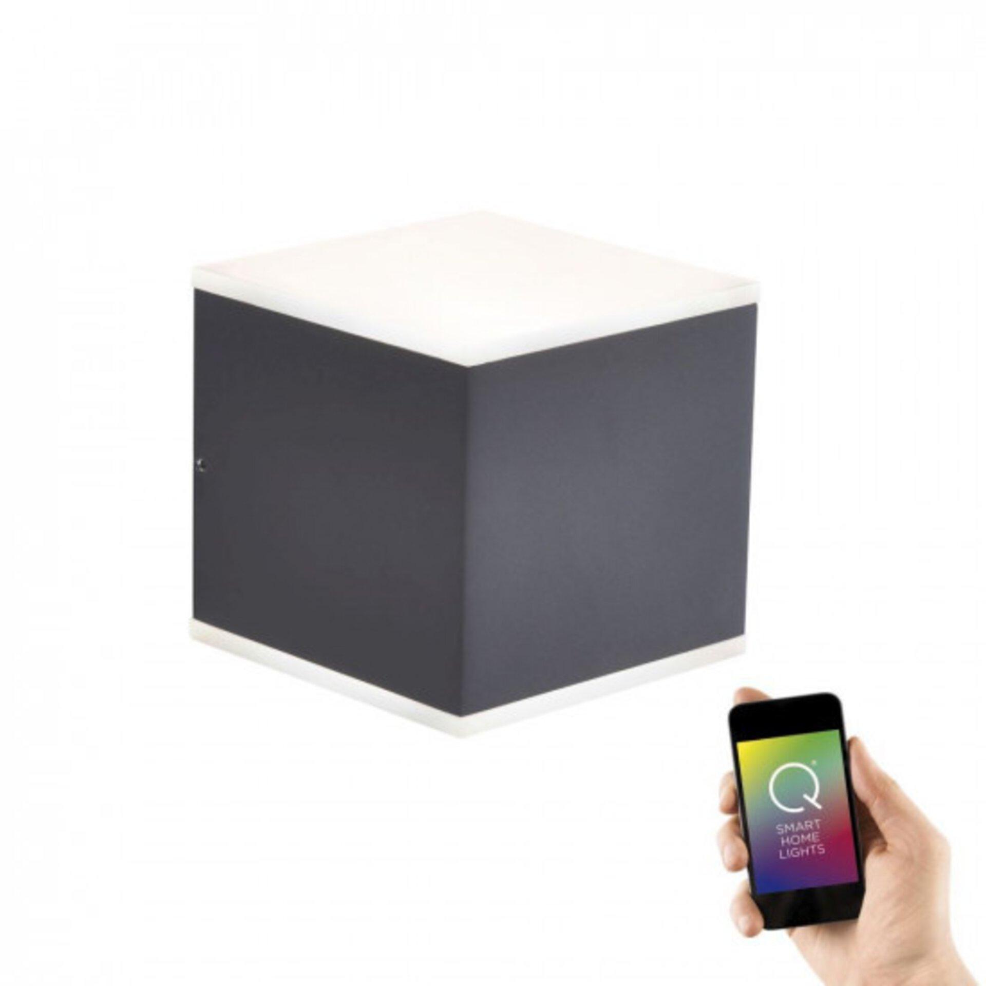 Smart-Home-Leuchten Q-AMIN Paul Neuhaus Metall 11 x 11 x 11 cm