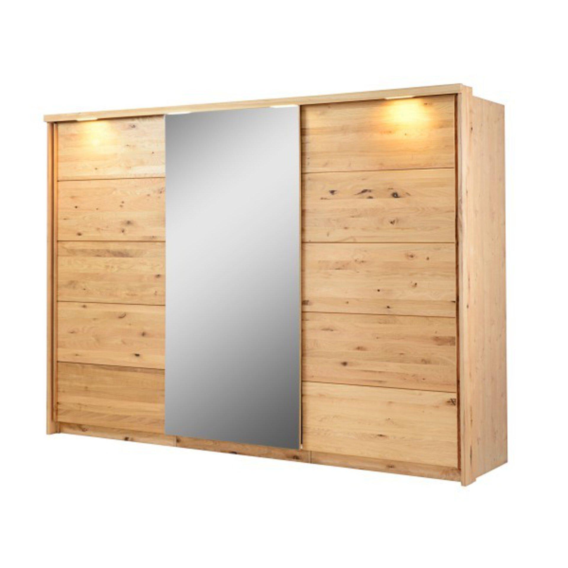 Schwebetürenschrank NICOLE Dreamoro Holzwerkstoff 70 x 209 x 285 cm
