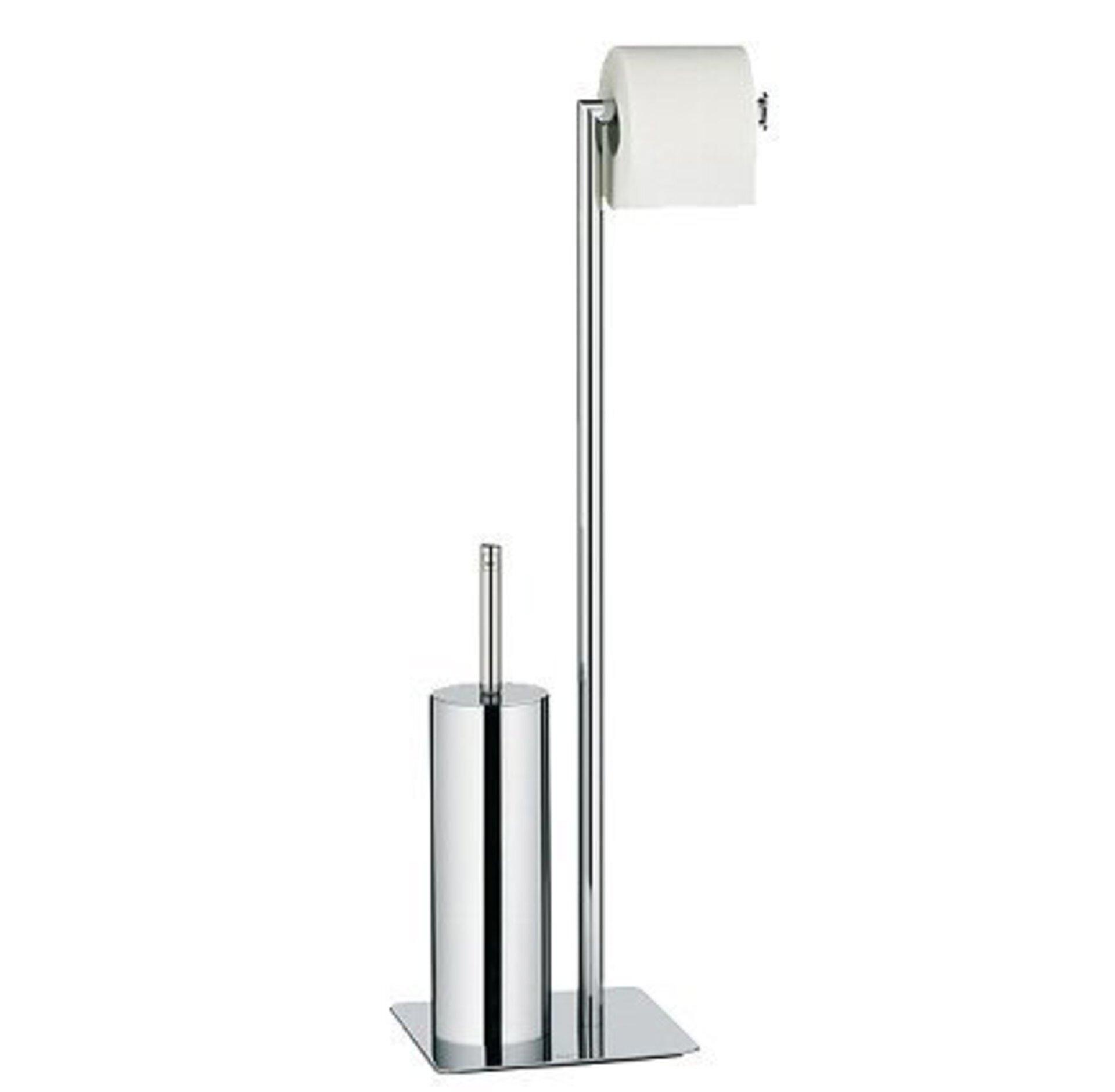 WC-Bürste Style Kela Metall silber