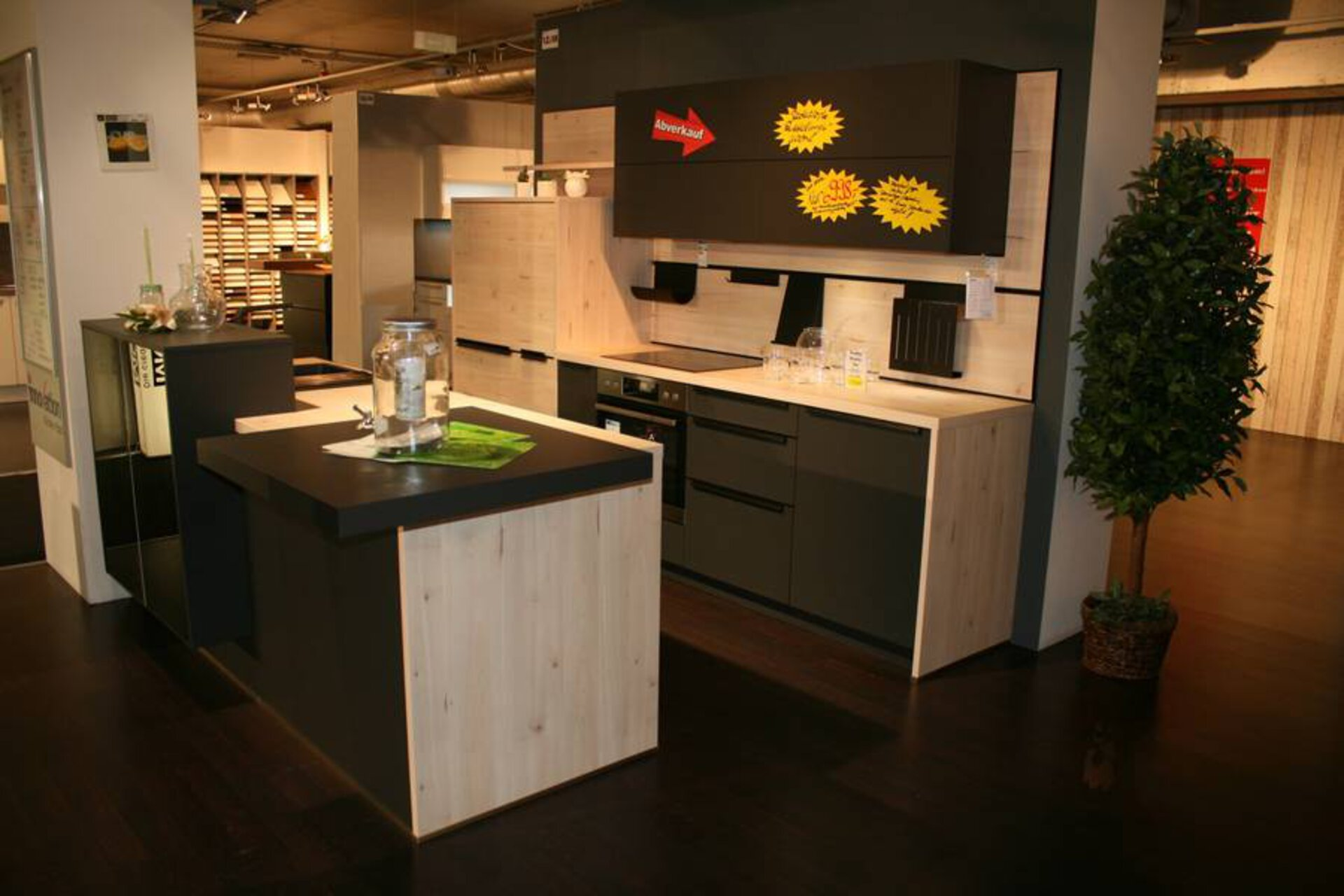 Einbauküche Ultra matt UMA/ LIMBA LIM