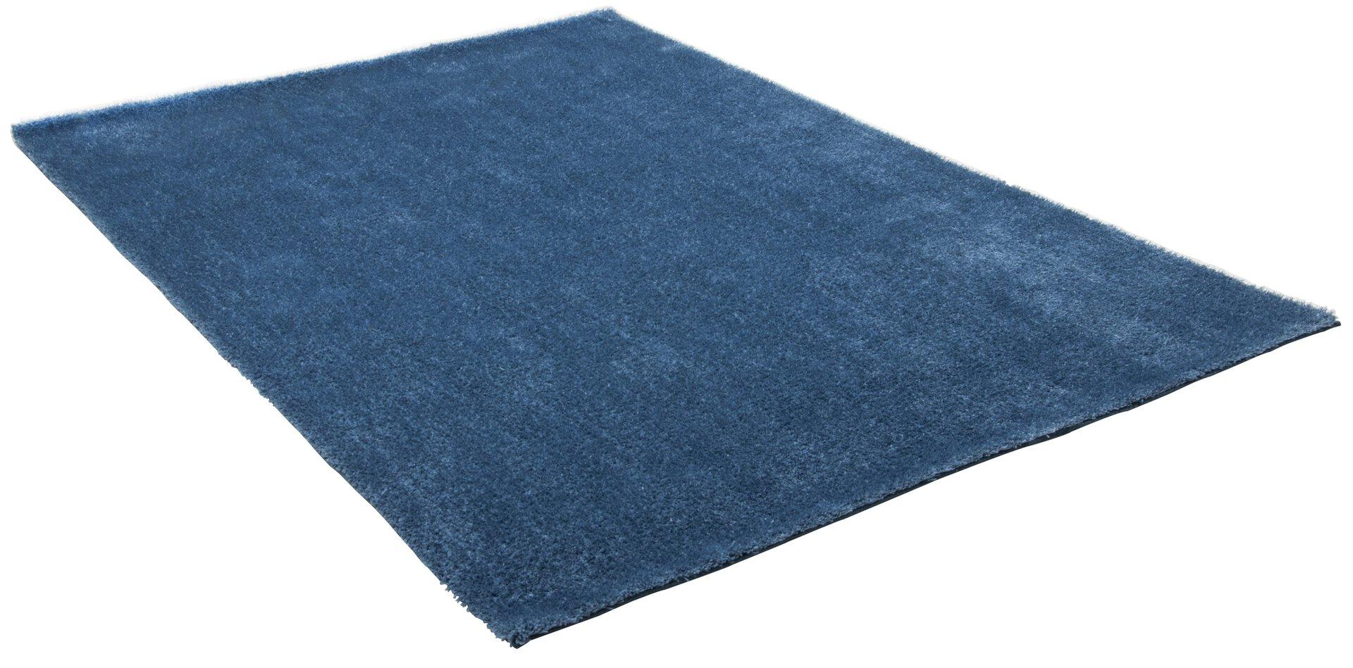Handtuftteppich Alessandro Gino Falcone Textil Blau 50 x 80 cm