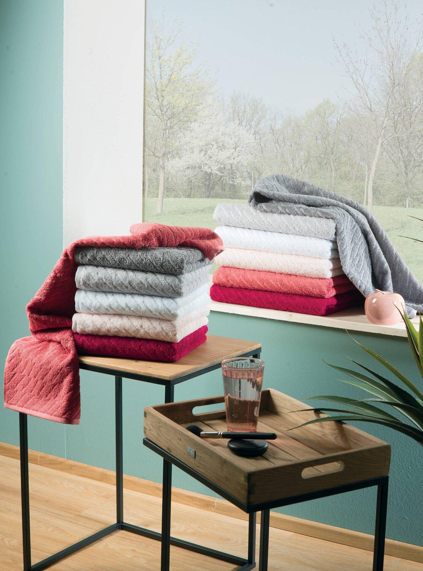 Handtuch Snuggy Vossen Textil rosa